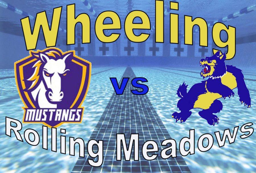 Wheeling Girls JV Swimming vs. RMHS